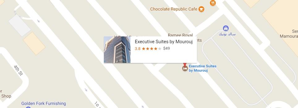 EXECUTIVE SUITES LOCATION & DIRECTIONS | Executive Suites  Abu Dhabi
